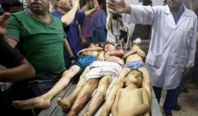 Palestinian children who died during 1969-70 Israeli invasion of Gaza. They were among hundreds.