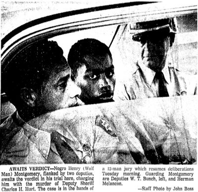 Henry Montgomery, 17, before sentence of death of in Louisiana in 1986.