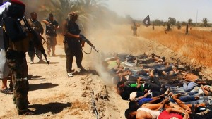 U.S.-backed ISIS executes civilians in Iraq.