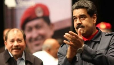 Pres. Maduro during celebration of Pres. Hugo Chavez's revolutionary history.