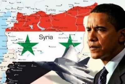 U.S. Pres. Barack Obama leads western coalition attacking Syria, which supports anti-Assad rebels.